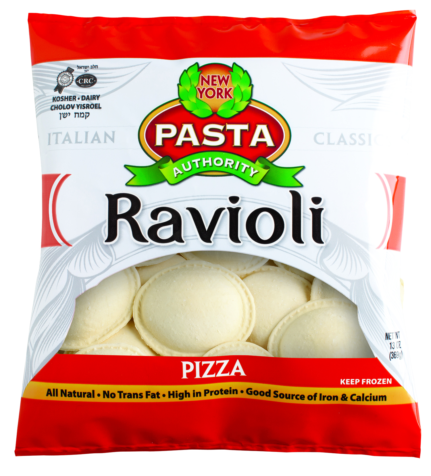 Bag - Ravioli - Pizza